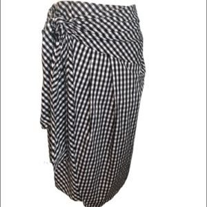 Soprano Buffalo Check Skirt Size Large